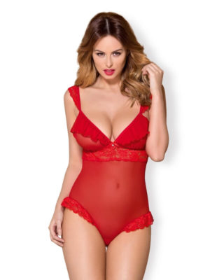 body intimo rosso