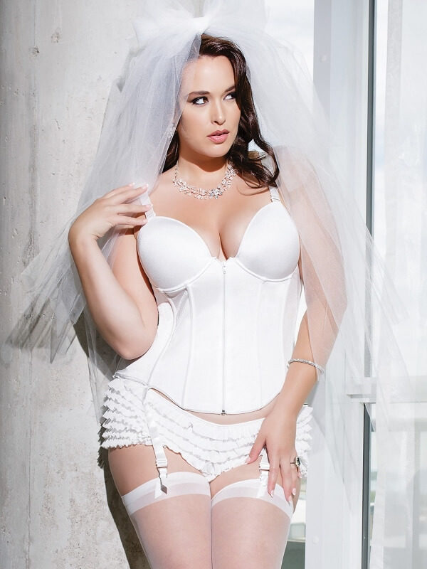 Bustino curvy lingerie sposa